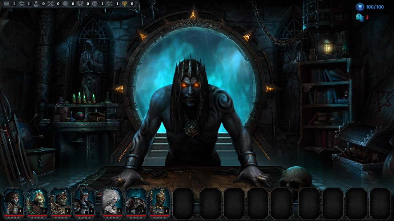 Become The Ultimate Necromancer In Iratus: Lord of the Dead