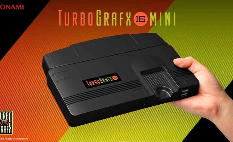 Konami Announces Revivial of Classic Console, TurboGrafx-16