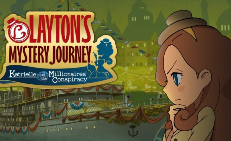Nintendo Announces Western Release Date for Layton's Mystery Journey: Katrielle and the Millionaires' Conspiracy – Deluxe Edition on Switch