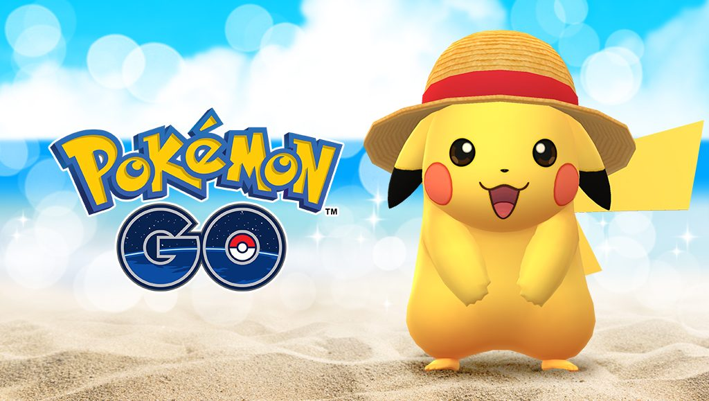 Straw Hat Pikachu Appears in Pokémon Go for One Piece Crossover Event
