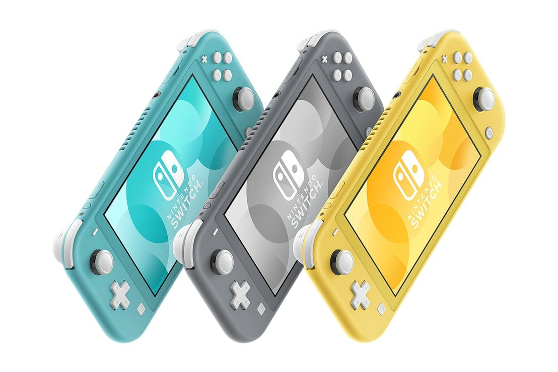 Nintendo Officially Unveils the New Smaller and Cheaper Nintendo Switch Lite, Launches this September