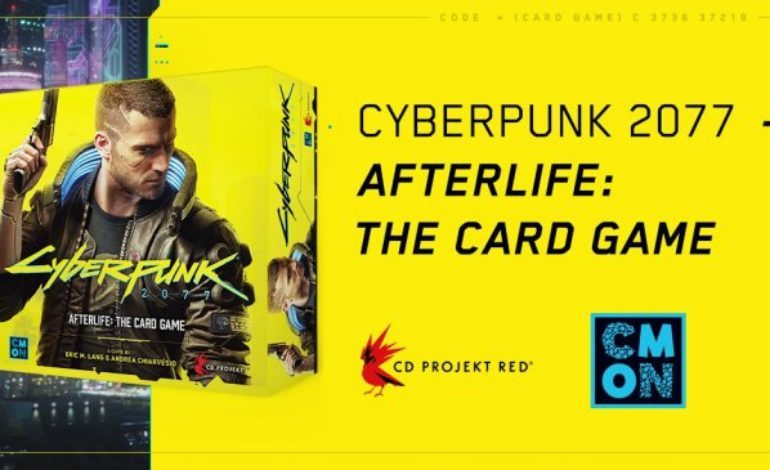 Cyberpunk 2077 is Getting A Card Game Spin-off