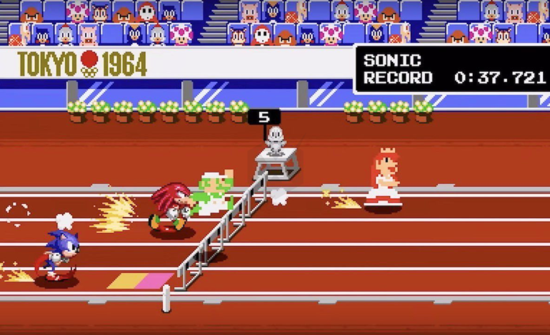 Nintendo Shares New Classic 2D Events Reveal Trailer for Mario and Sonic at the Olympic Games Tokyo 2020 during Gamescom 2019