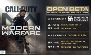 New Call Of Duty: Modern Warfare Multiplayer Beta Trailer Releases As Activision Shares More Details On The Beta Test Weekends
