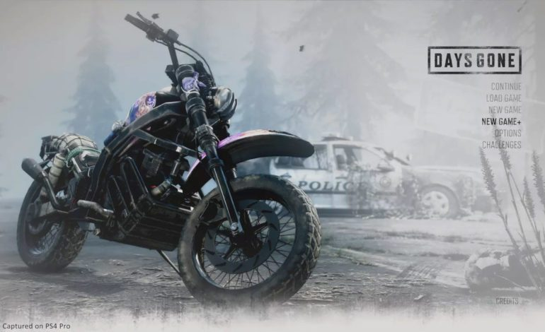 "Days Gone ""New Game Plus"" Update Releasing September 13"