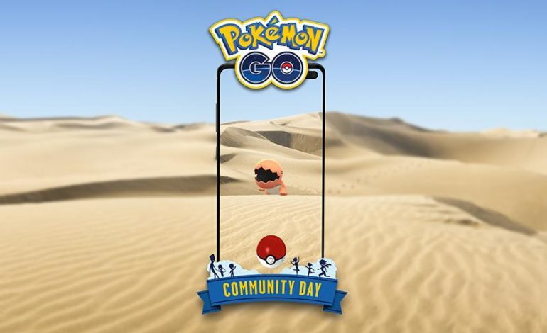October's Pokémon Go Community Day will Feature Trapinch