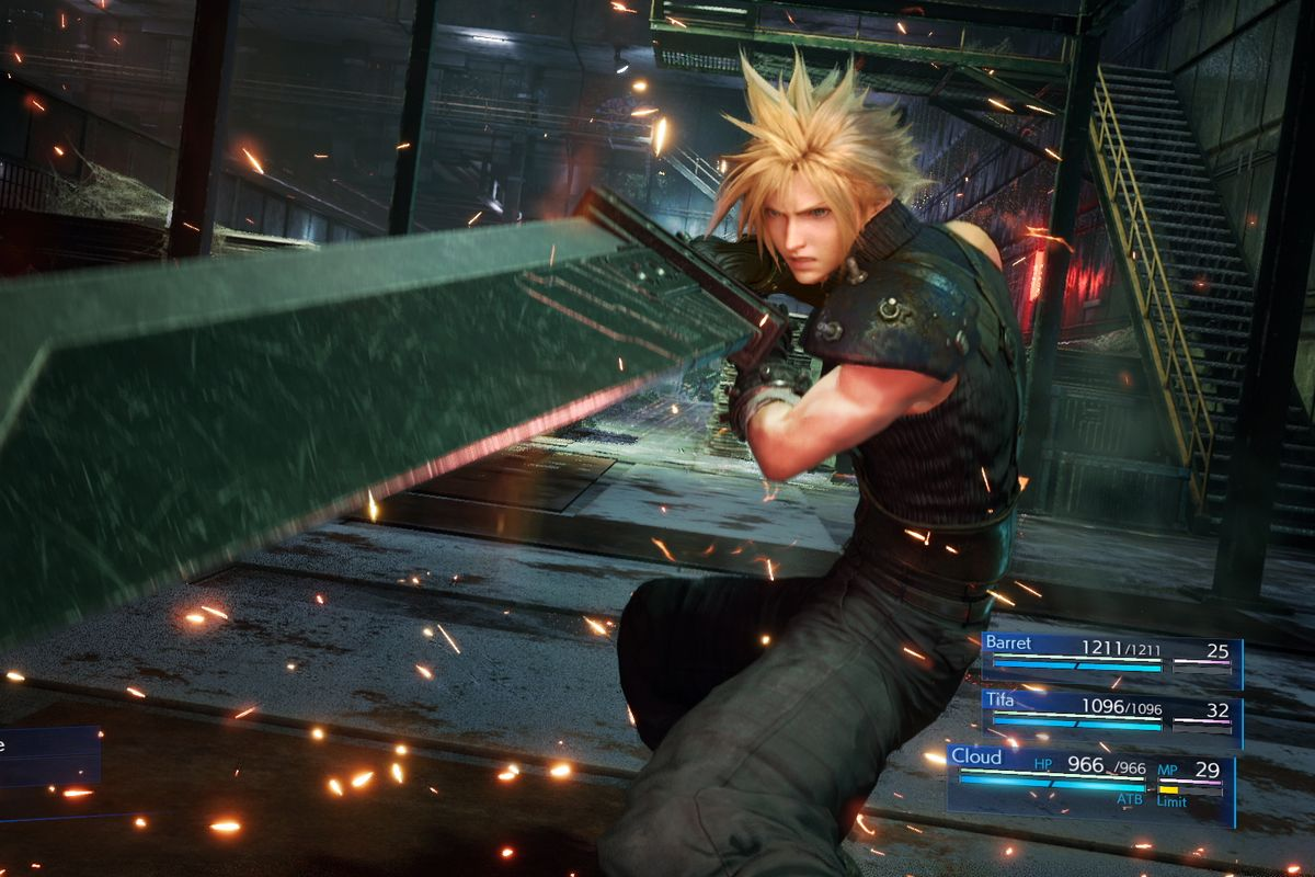 Final Fantasy VII Remake To Include Classic Mode Which Makes Combat Play Like The Original