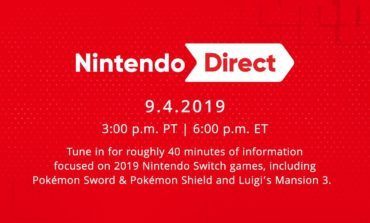 Nintendo Direct Scheduled for September 4, Will Focus on Switch Games for the Remainder of 2019