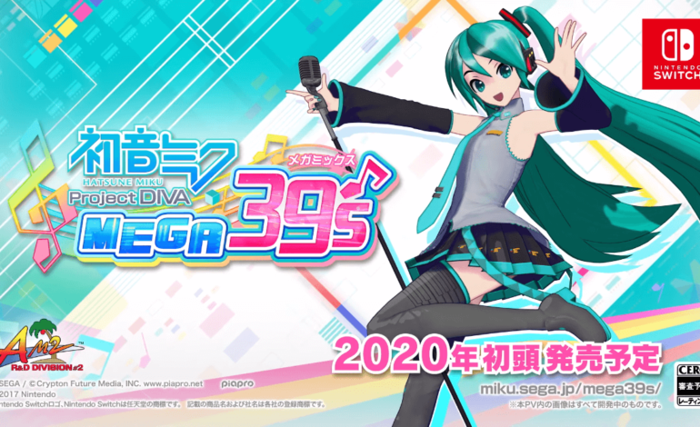 Hatsune Miku: Project DIVA Mega Mix Releasing on the Nintendo Switch in Japan and the West in 2020