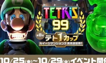 Next Tetris 99 Maximus Cup to Feature Luigi's Mansion 3