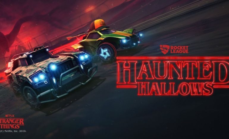 Rocket League Travels to the Upside Down for Halloween Event