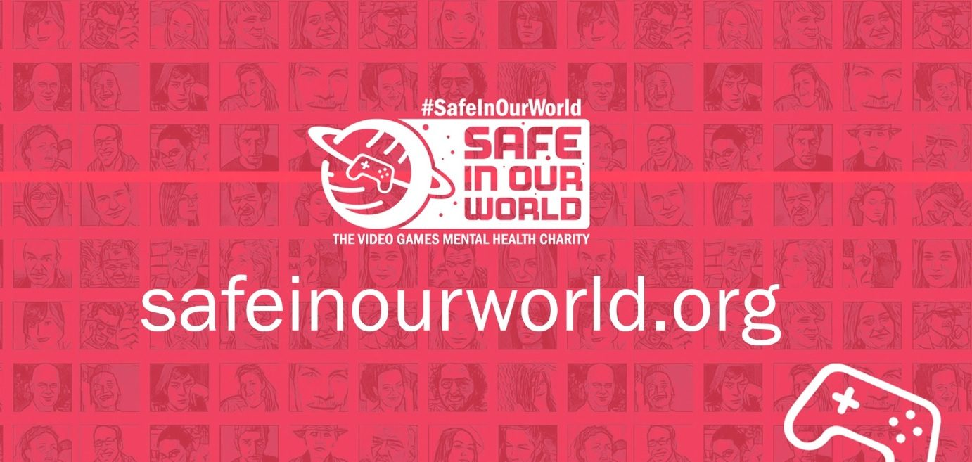 Safe in Our World is a New Charity with a Focus on Mental Health in the Games Industry
