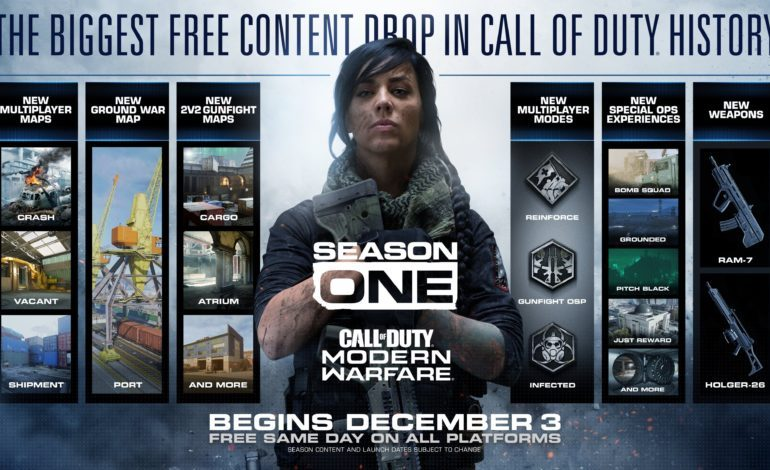 Call of Duty: Modern Warfare Season One Releases December 3 With The Biggest Free Content Drop In Call of Duty History