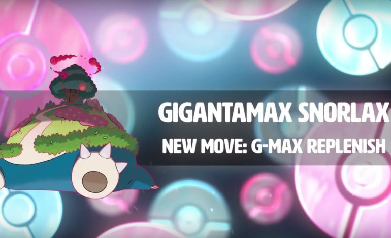 Gigantamax Snorlax Coming to Sword and Shield Max Raid Battles in December