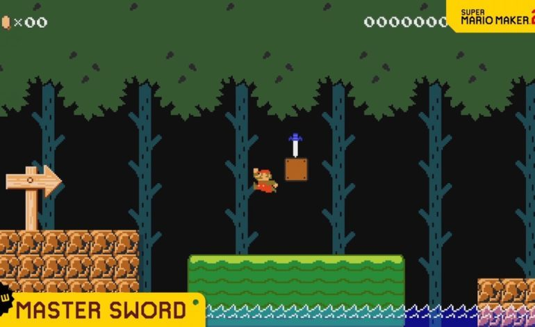 Super Mario Maker 2 Update Adds Link and the Master Sword