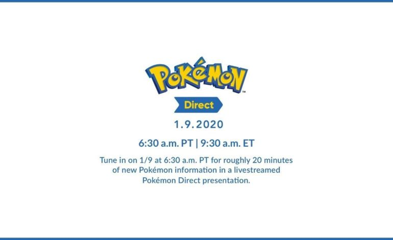 Nintendo Announces Pokémon Direct for Later this Week