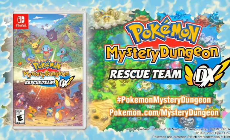 Pokémon Direct Reveals Pokémon Mystery Dungeon: Rescue Team DX and New Expansion Pass for Pokémon Sword and Shield