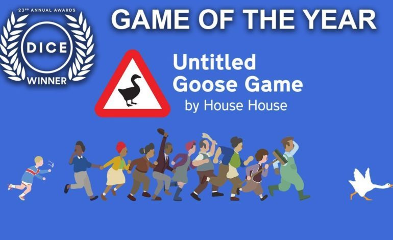 Untitled Goose Game Wins Game of the Year at the D.I.C.E. Awards