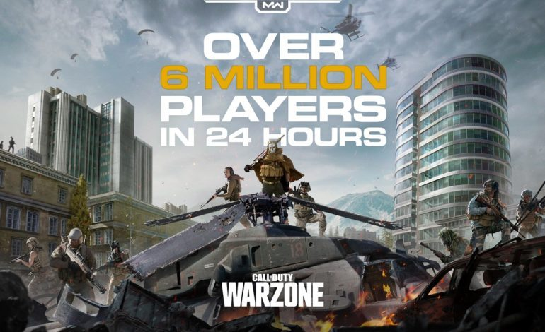 Call of Duty: Warzone Tops More Than 6 Million Players in Less Than 24 Hours