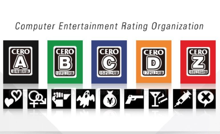 Japanese Game Rating Organization CERO is Closing for the Rest of April