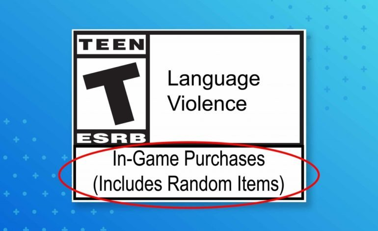 ESRB Introduces In Game Purchases (Includes Random Elements), A New Label For Games With Loot Boxes