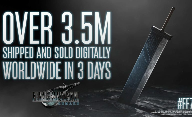 Final Fantasy VII Remake Shipped & Sold Digitally More Than 3.5 Million Copies Worldwide In 3 Days