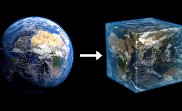 A Massive Group Of People Are Recreating The Earth On A 1:1 Scale In Minecraft