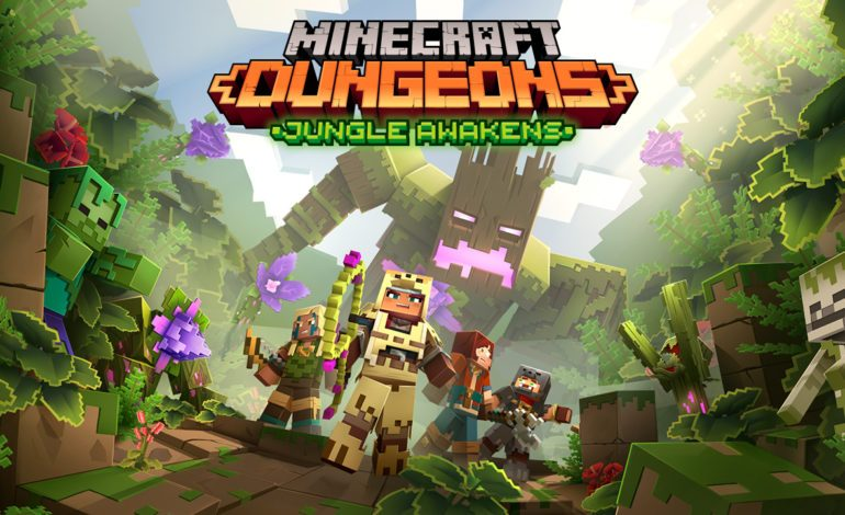 First Minecraft Dungeons DLC: Jungle Awakens, Will Release In July