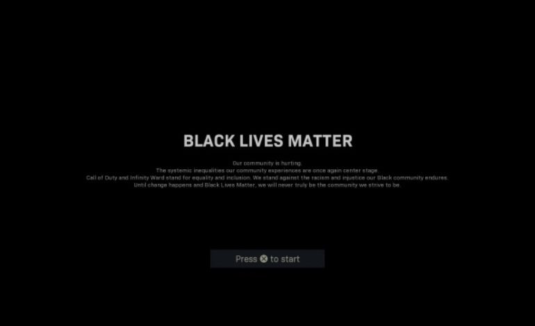 Call of Duty: Modern Warfare Displays Message for Black Lives Matter