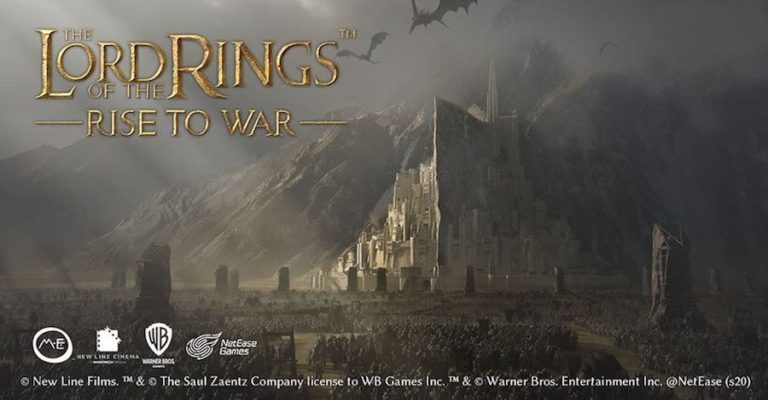 Warner Brothers and NetEase Announce Lord of the Rings: Rise to War Collaboration