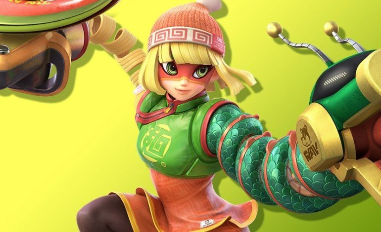 Super Smash Bros. Ultimate Fighter is Min Min from Arms