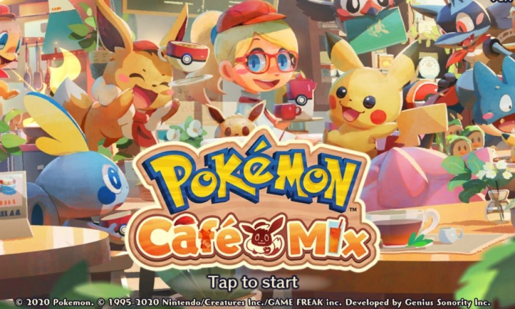 Pokemon Cafe Mix Introduces First Team Event