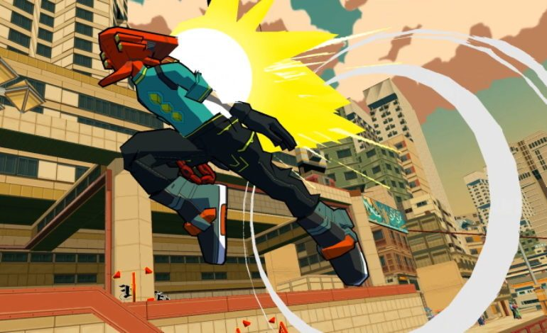 Bomb Rush Cyberfunk is an Indie Homage to Jet Set Radio Coming to PC