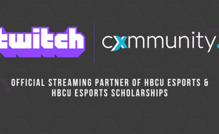 Twitch Partners with Cxmmunity to Create Esports League for Historically Black Colleges