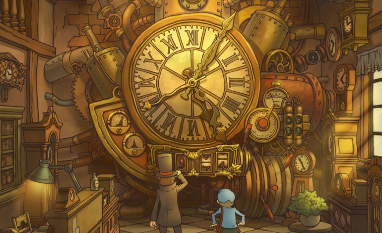 Professor Layton and the Lost/Unwound Future To Be Released on July 13th on iOS and Android