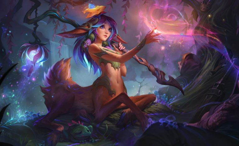 League of Legend's New Spirit Blossom Event Blooms with New Champion