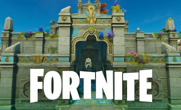 Fortnite Updates Map Which Reveals Coral Castle