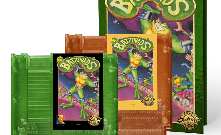 Preorders Now Open for Battletoads NES Legacy Cartridge Collection and Vinyl Soundtrack