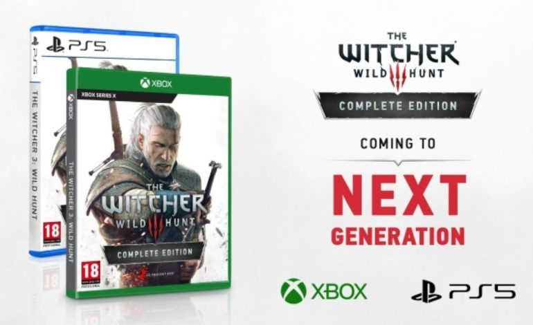 The Witcher 3: Wild Hunt PlayStation 5, Xbox Series X Versions Announced