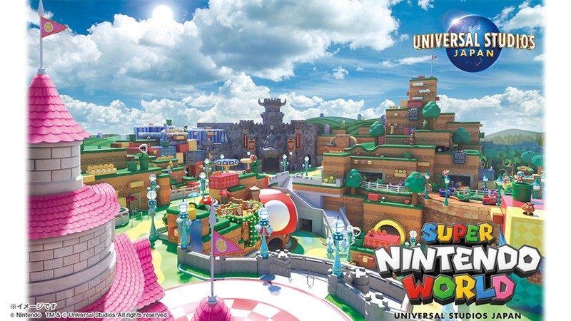Universal Studios Japan's Super Nintendo World Delayed Again
