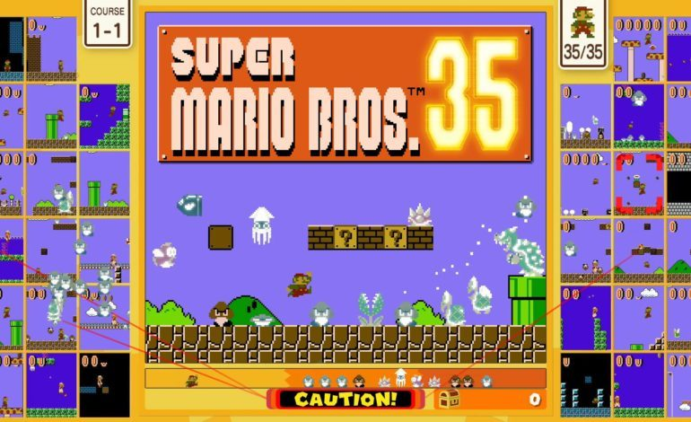 Super Mario Bros. 35 Available Now For Nintendo Switch