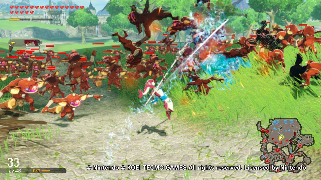 Hyrule Warriors Age Of Calamity Review Mxdwn Games
