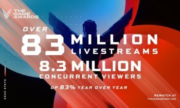 The Game Awards 2020 Set A New Global Record With More Than 83 Million Livestreams, A 84% Increase From Last Year