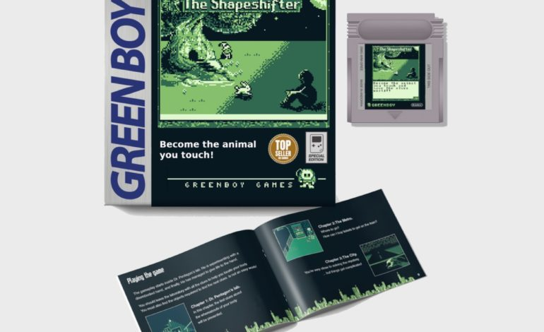 New Game Boy Exclusive, The Shapeshifter, Hits Kickstarter Goal