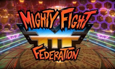 Mighty Fight Federation is now available on PC and PlayStation
