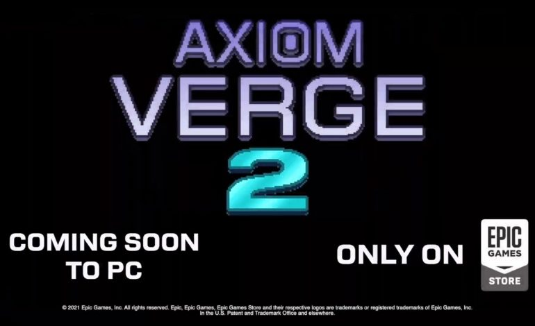 Axiom Verge 2 Coming to PC as an Epic Games Store Exclusive This Year