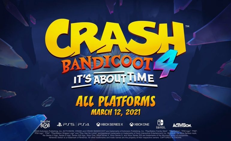 Crash Bandicoot 4: It's About Time Coming to PlayStation 5, Xbox Series X/Series S, and Nintendo Switch Next Month