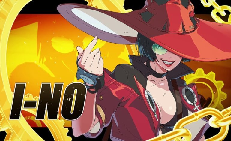I-No Revealed as Final Launch Fighter for Guilty Gear Strive