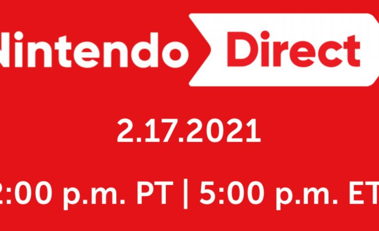 Nintendo Direct Coming Tomorrow, February 17