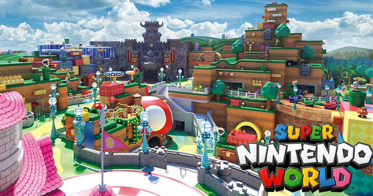 Super Nintendo World at Orlando Delayed Until 2025
